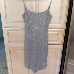 [LIKE NEW] Windsor: Silver Glitter Dress